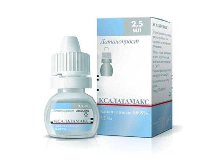 применение лекарства Ксалатамакс