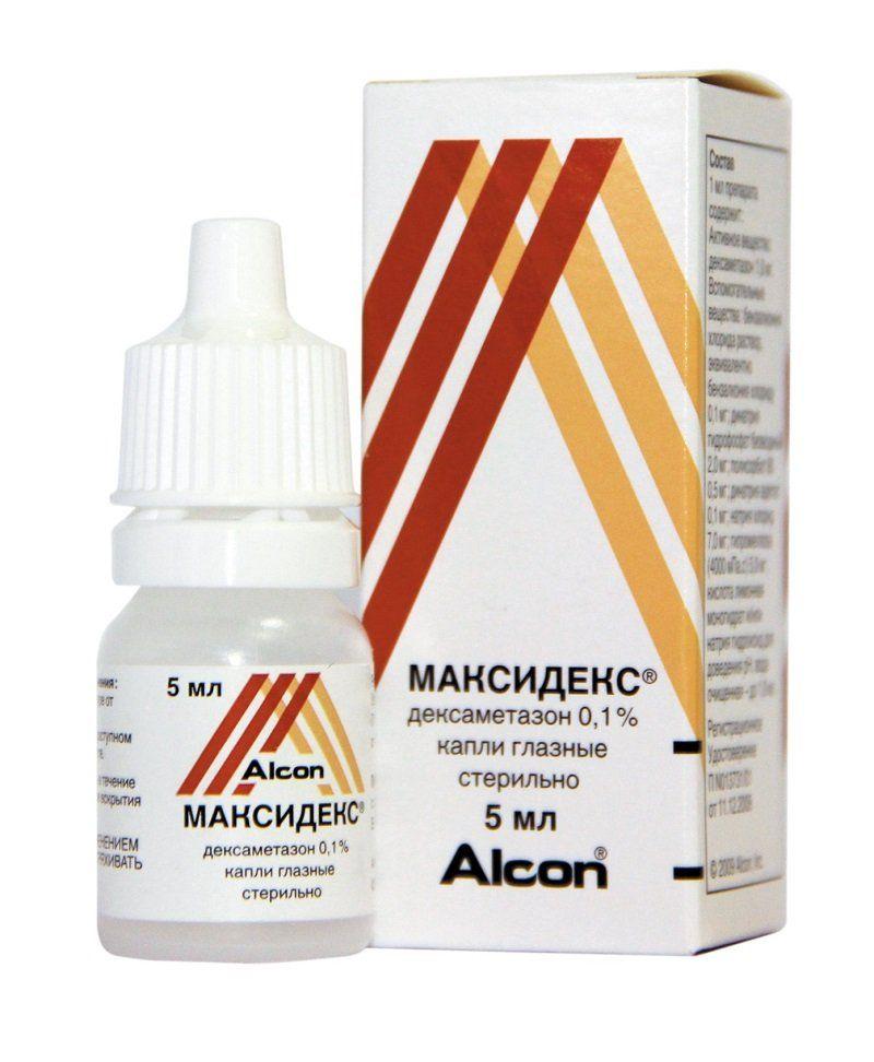 препарат Максидекс