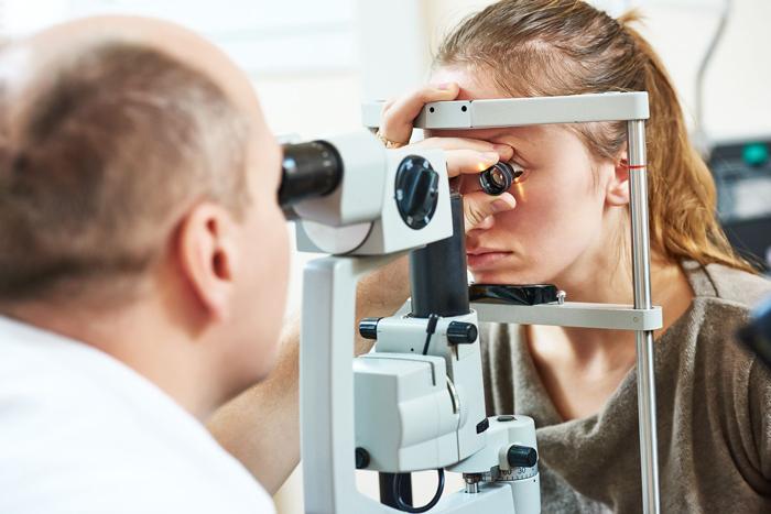 Офтальмоскопия глазного дня