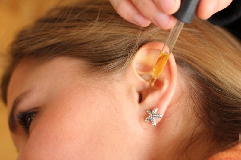 закапывание в уши