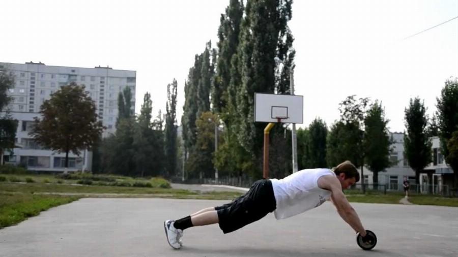 Доступность тренинга с роликом