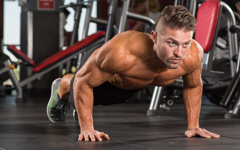Отжимания на трицепс: проработка трёхглавой мышцы