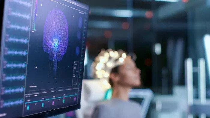 Сканирование мозга в лаборатории сна