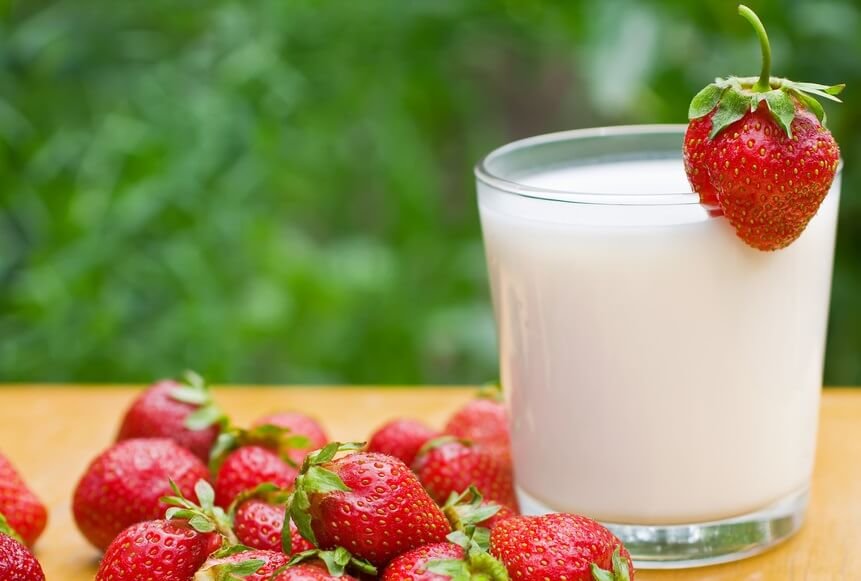 кисель из молока