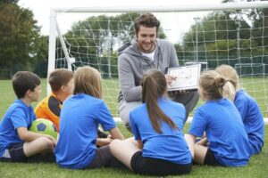 Тренер выполняет роль психолога