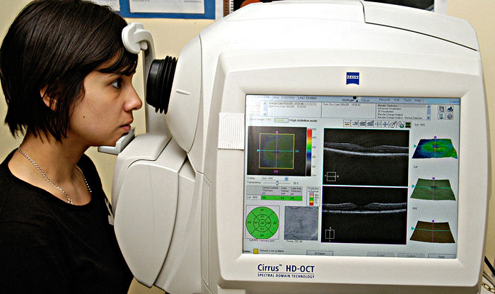 Оптическая когерентная томография сетчатки глаза