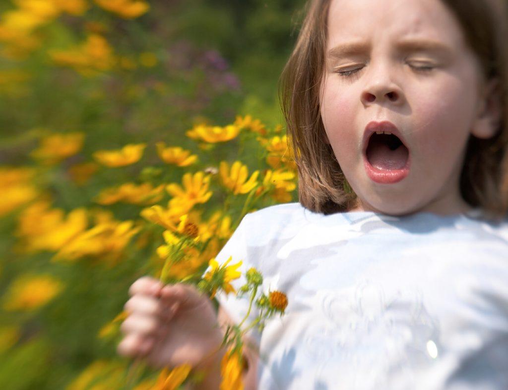 Аллергия и отек горла