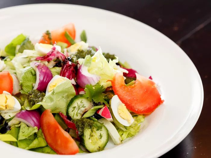 Модернизированный овощной салат