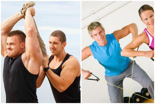 Удержание мышц в напряжении