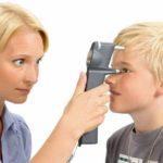 Измерение давления внутри глаза