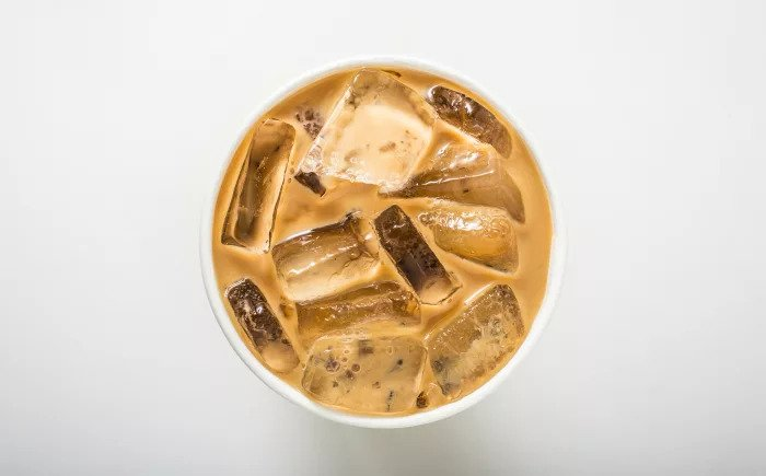 Холодный кофе Иллюстрация