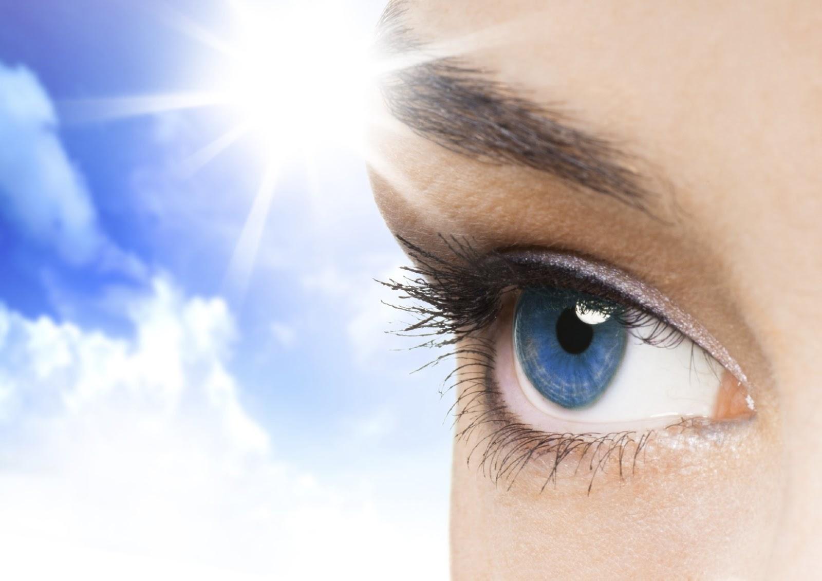 По теории Бейтса, глаза не следует защищать от солнца.