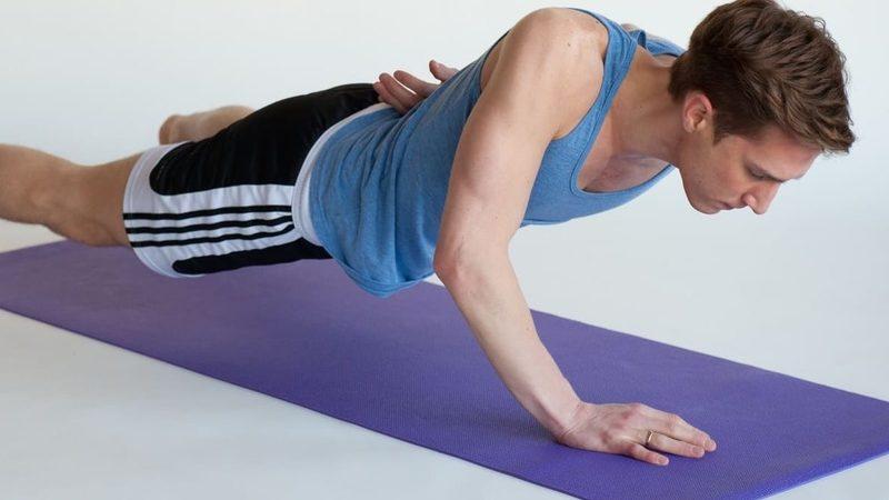 Отжимания для набора мышечной массы
