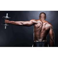 Развиваем рельеф плеча: разведение гантелей в наклоне