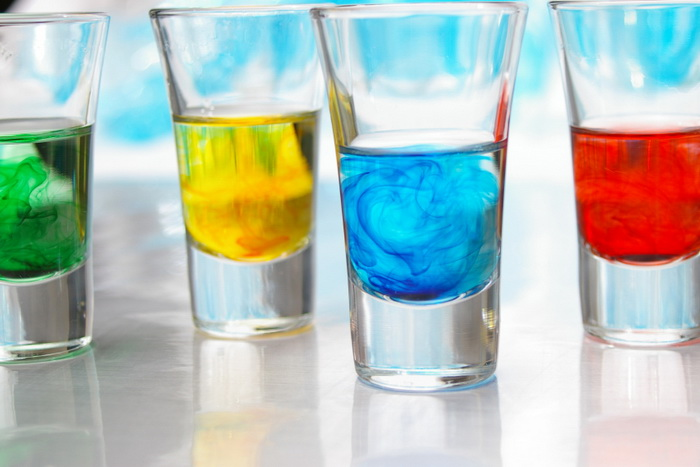 Красящие вещества в продуктах