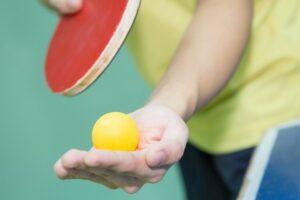 Настольный теннис для детей