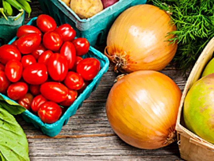 Фрукты и овощи, Мента Маркет, вокзал, Неве Цедек, Тель Авив