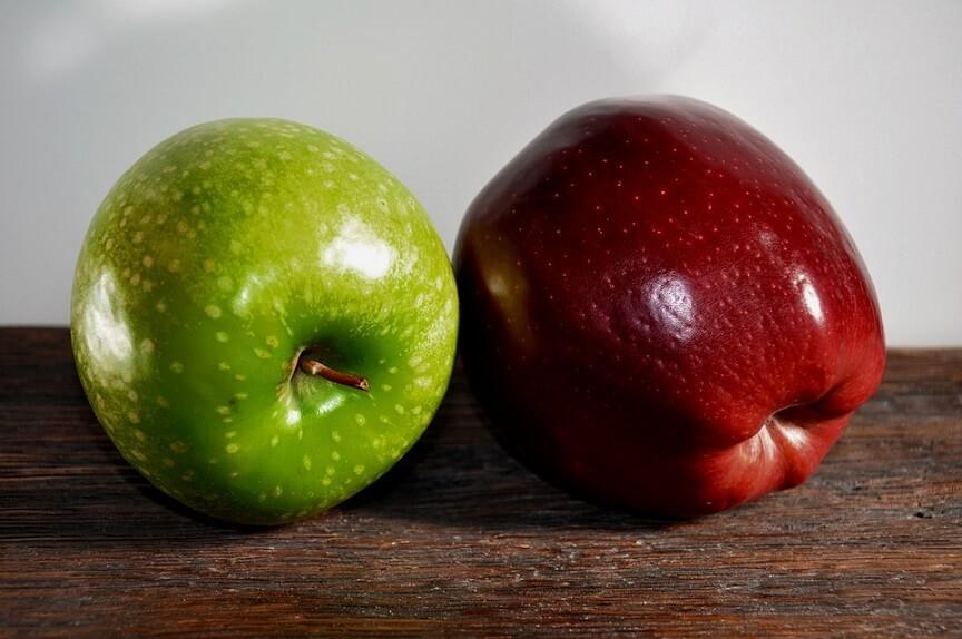 выбираем только качественные фрукты без следов повреждений