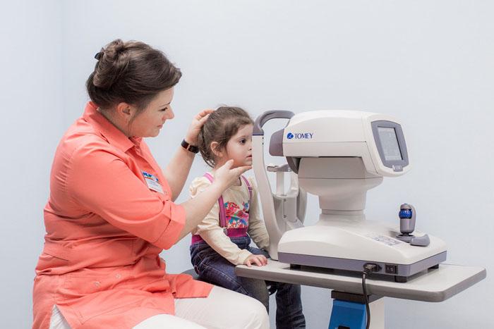 Авторефрактометрия у детей