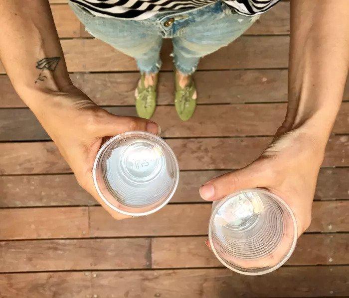 Два стакана воды