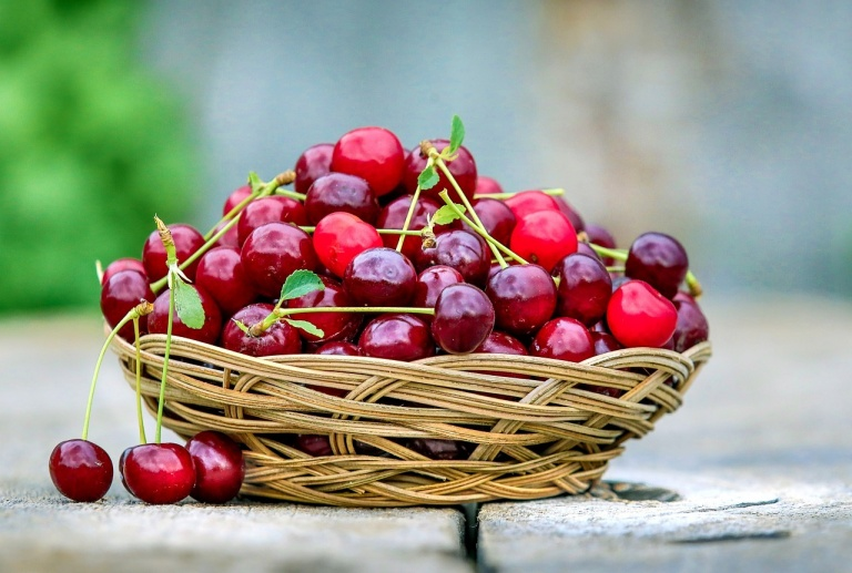 Вишневый сок богат антиоксидантами