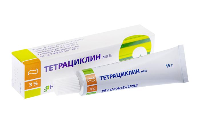 Тетрациклиновая мазь при конъюнктивите
