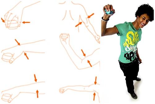 упражнения на разные группы мышц