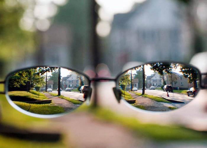 Как видит человек со зрением минус 5
