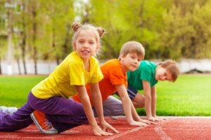 Бег для детей