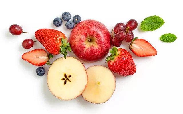 Яблоко и черника