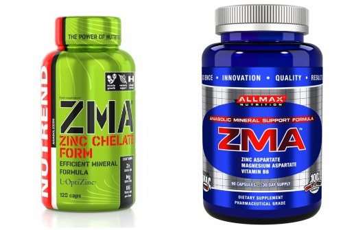Nutrend и Allmax nutrition