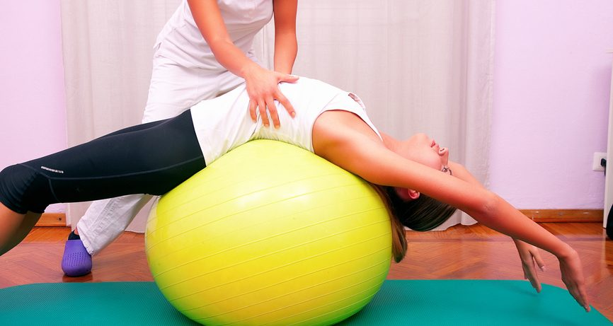 Фитбол как средство реабилитации