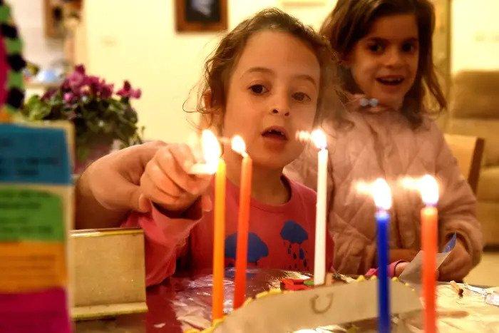 Зажигание второй свечи в пейзажах Неемии и Рахилима, 13 декабря 2017 г