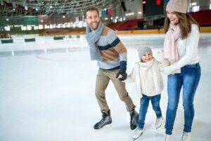 Катание на коньках для детей