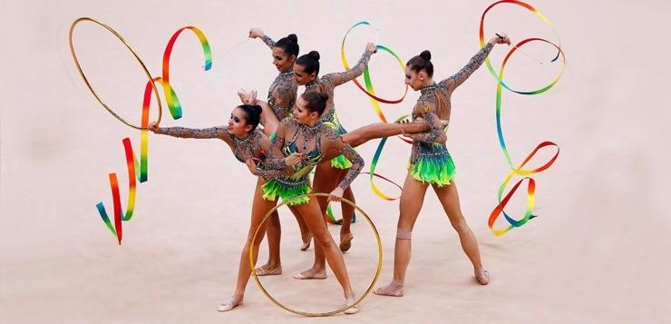 Гимнастические снаряды для художественной гимнастики: как правильно подобрать
