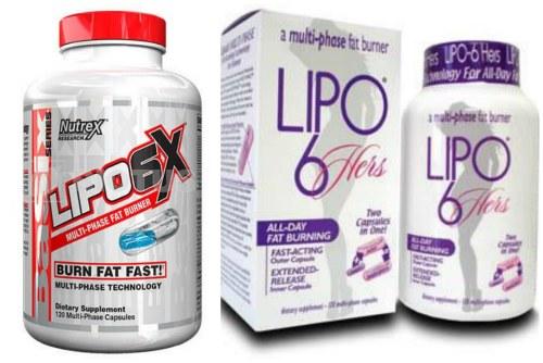 Lipo 6X и Lipo 6-Hers для женщин