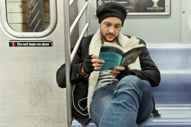 Читать в транспорте