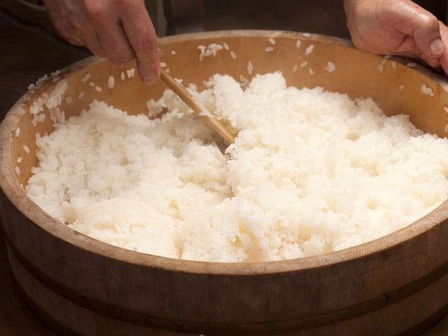 Рис + уксус