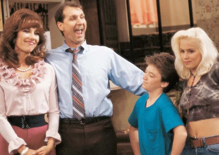 Семья Бенди из сериала замужем с детьми