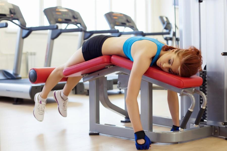 Снижение активности на вечерней тренировке