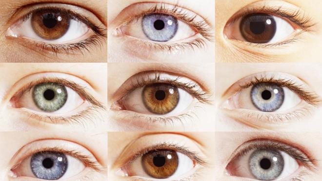 Оттенки глаз