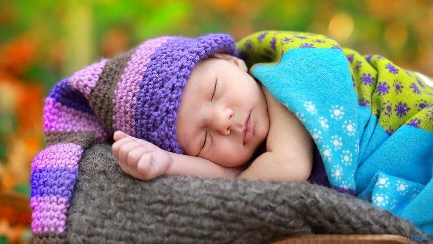 малыши быстро засыпают на свежем воздухе