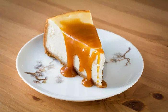 Пирожно-карамельный чизкейк