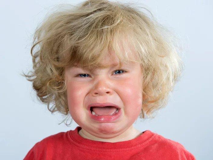 Плачущая ребенок