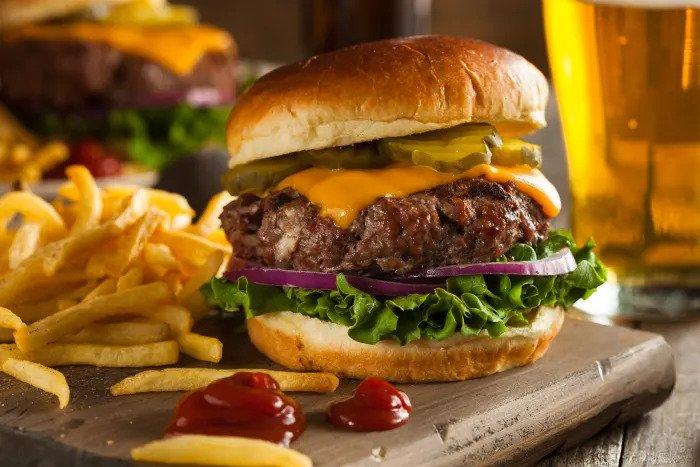 Иллюстрация чизбургер сыр сыр