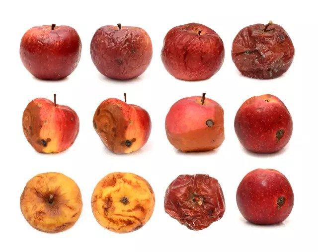 Изменение текстуры фруктов
