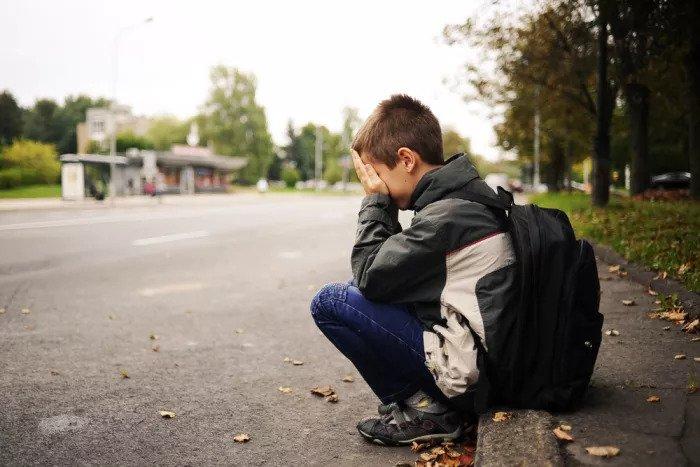 Плачущий студент
