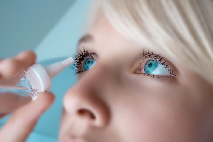 Капли для глаз противовоспалительные