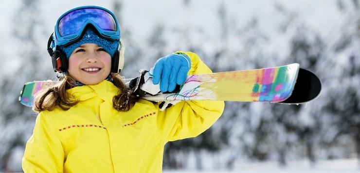 Зимние виды спорта для детей