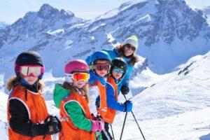 Горные лыжи для детей: мальчики и девочки